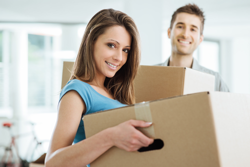 Man and Woman Moving - Move Out Cleaning